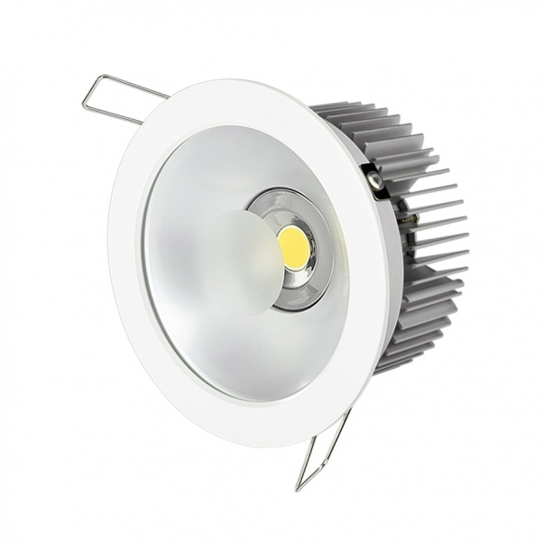 COB Down Light, led spot light, anti-glare led down light, Integrated power supply down light, CREE COB led down light